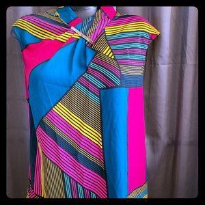 Sleeveless dress shirt